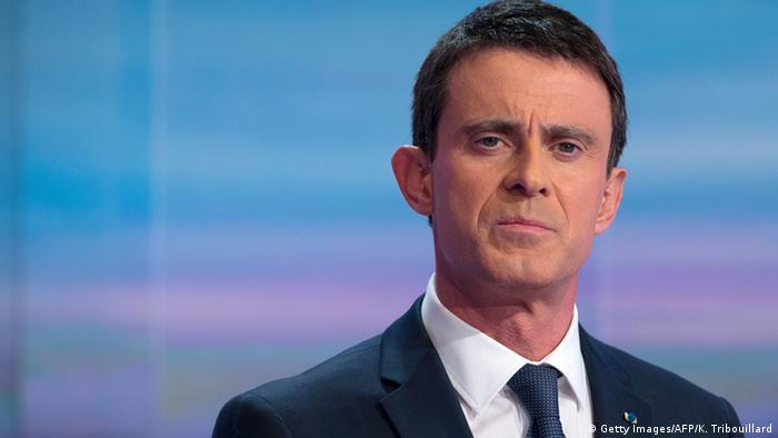 Frankreich - Manuel Valls