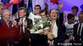 Национальный фронт под руководством Марин Ле Пен стал одной из главных политических сил Франции