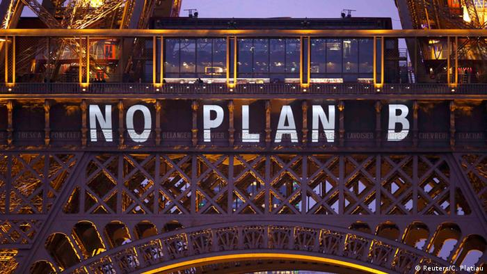 Frankreich Cop21 Klimagipfel in Paris - Eiffelturm
