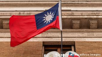 Flagge Republic of China Taiwan