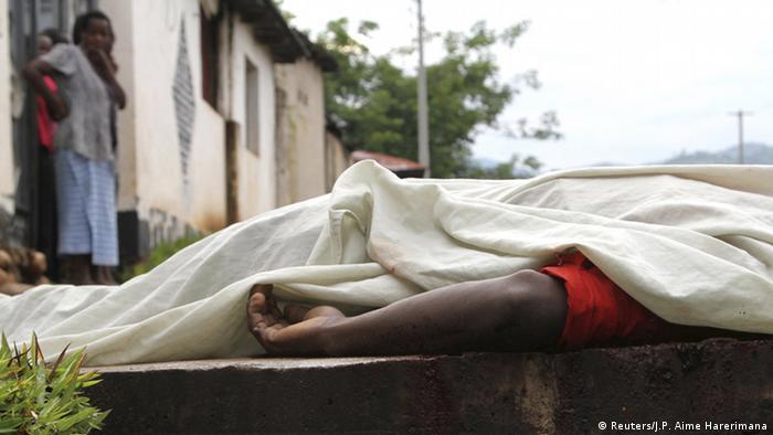 Burundi Gewalt und Tote