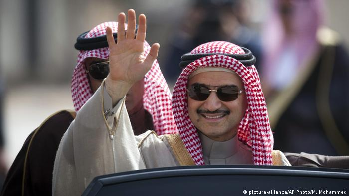 Prinz Alwaleed bin Talal (picture-alliance/AP Photo/M. Mohammed)