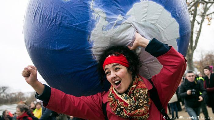 Frankreich Cop21 Klimagipfel in Paris Demonstration