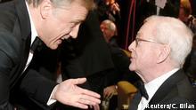 Berlin Verleihung 28. Europäischer Filmpreis Waltz und Caine