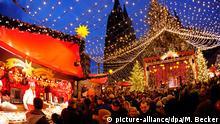 Deutschland Weihnachtsmärkte Köln