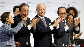 French premier Hollande hosted the landmark COP21 in Paris, 2015.