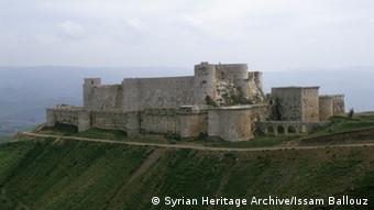 Krak de Chevaliers Castle in Syria, Copyright: Syrian Heritage Archive/Issam Ballouz