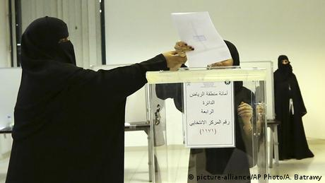 Saudi Arabien Wahlen (picture-alliance/AP Photo/A. Batrawy)