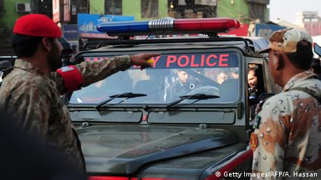 Pakistan Polizei (Getty Images/AFP/A. Hassan)