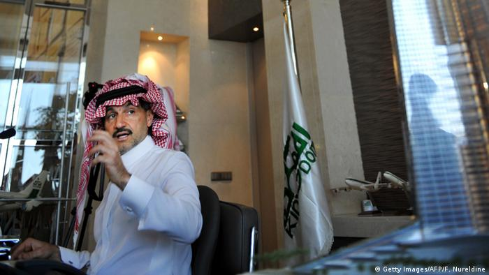 Saudi-Arabien Kingdom Tower in Dschidda Prinz Alwaleed bin Talal (Getty Images/AFP/F. Nureldine)