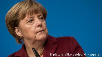 Deutschland CDU Bundesparteitag in Karlsruhe Angela Merkel