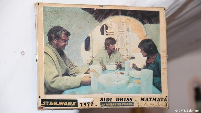 Poster from original Star Wars movie (Copyright: E Lehmann)