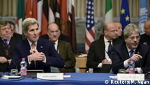 Libyen Konferenz in Rom John Kerry