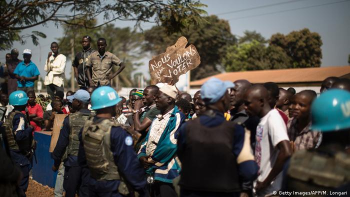 Central African Republic demonstration