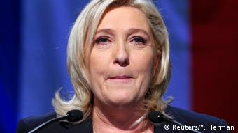 Marine Le Pen. (Photo: Reuters/Y. Herman)