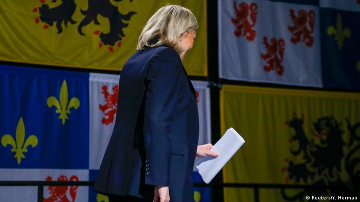 Frankreich Zweite Runde der Regionalwahlen 2015 Marine Le Pen