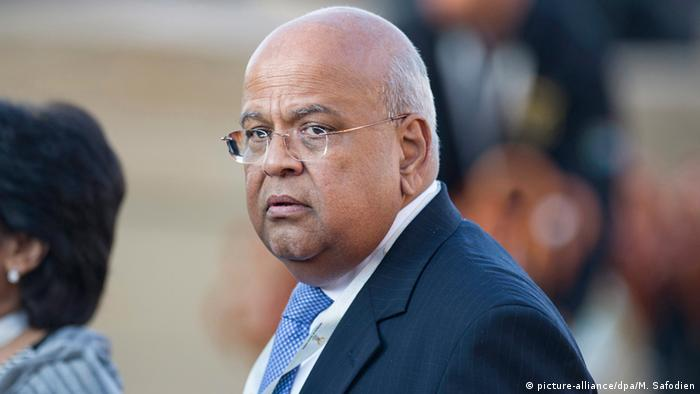 South African finance minister may be charged for graft as Gupta family quits