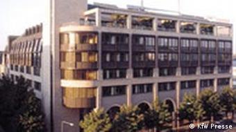 Sitz der KfW Bankengruppe in Frankfurt am Main