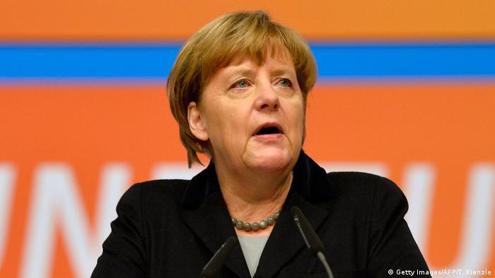 Канцлерка ФРН Анґела Меркель (фото з архіву)