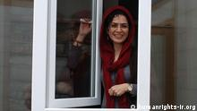 Title: Bahareh Hedayat Schlagwörter: Iran, Menchenrecht, Bildbescheibung: iranische studentin Bahareh Hedayat in Haft Lizenz: Frei Qulle: hro (humanrights-ir.org)