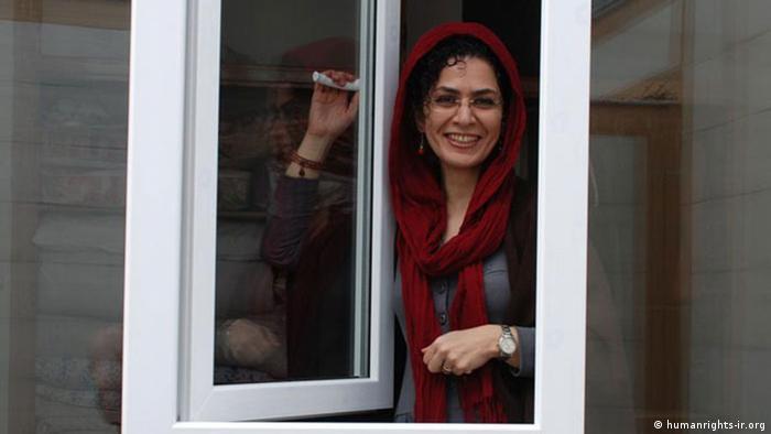 Bahareh Hedayat (humanrights-ir.org)