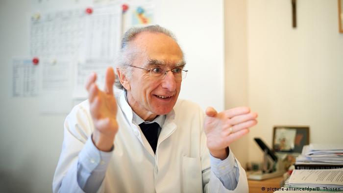 El catedrático Nortbert Brockmeyer, jefe del Centro de Salud y Medicina Sexual en Bochum.
