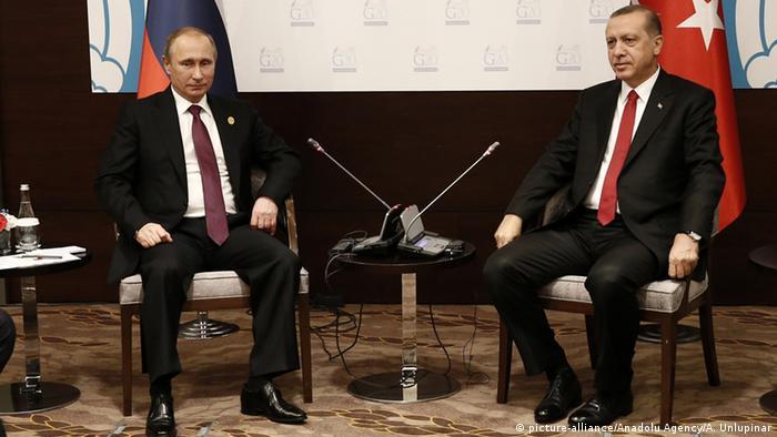 G20-Gipfel in Antalya - Putin und Erdogan