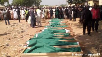 Nigeria 2014 Selbstmordanschlag trauernde Schiiten