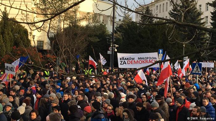 Poland demonstration