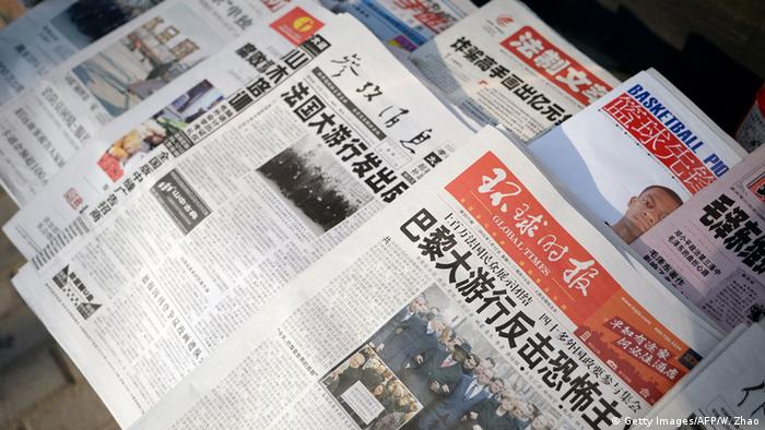 China Zeitungen