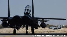 Saudi-Arabien F-15 Kampfflugzeuge