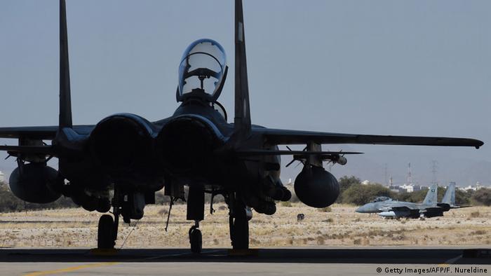 Ein saudischer F-15 Kampfjet