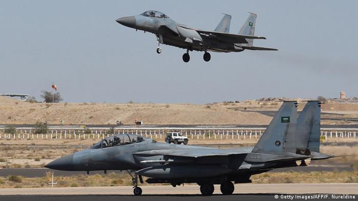 Saudi-Arabien F-15 Kampfflugzeuge (Getty Images/AFP/F. Nureldine)