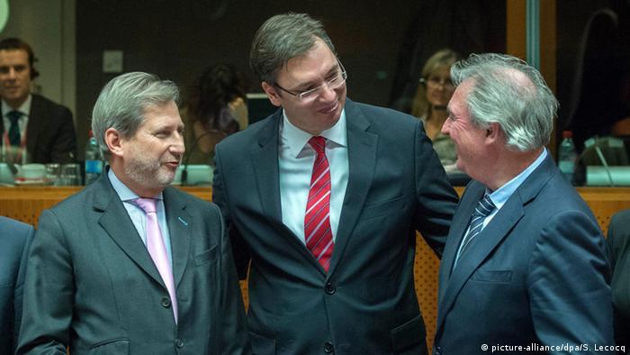 Belgien EU Beitrittsverhandlungen mit Serbien