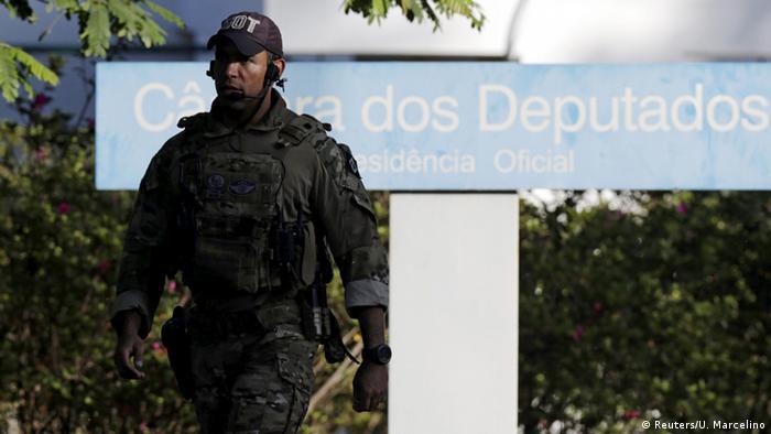 Brasilien Festnahme Eduardo Cunha Parlamenstpräsident