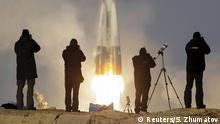 Russland Rakete Sojus TMA-19M Start zur ISS