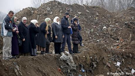 Bosnien Herzegowina neue Massengräber bei Zvornik
