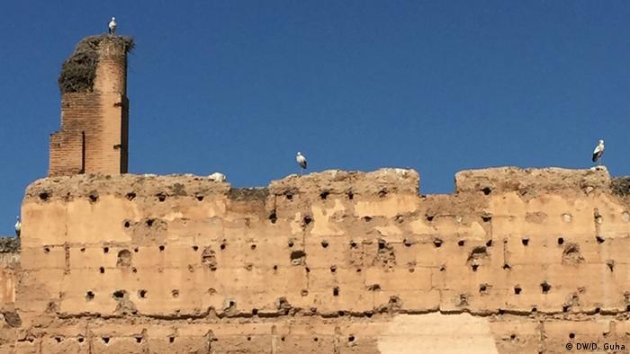 Marokko Fotoreportage Alter Königspalast in Marrakesch