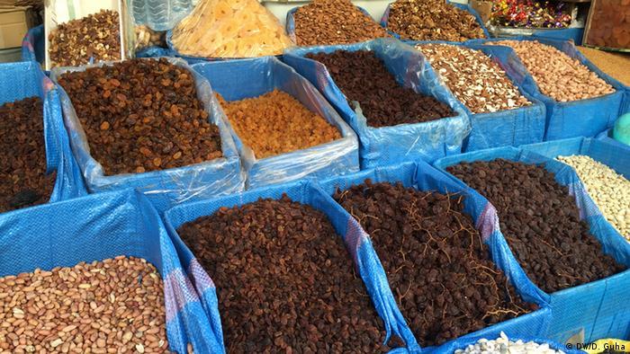 Marokko Fotoreportage Bazaar in Marrakesch