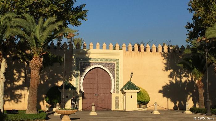 Marokko Fotoreportage Königspalast in Fes