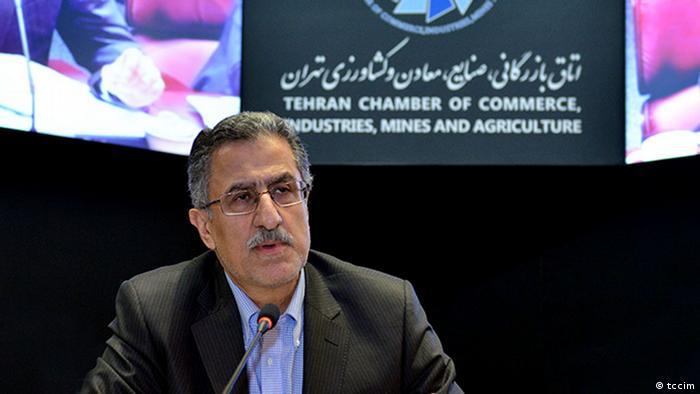 مسعود خوانساری، رئیس اتاق بازرگانی تهران