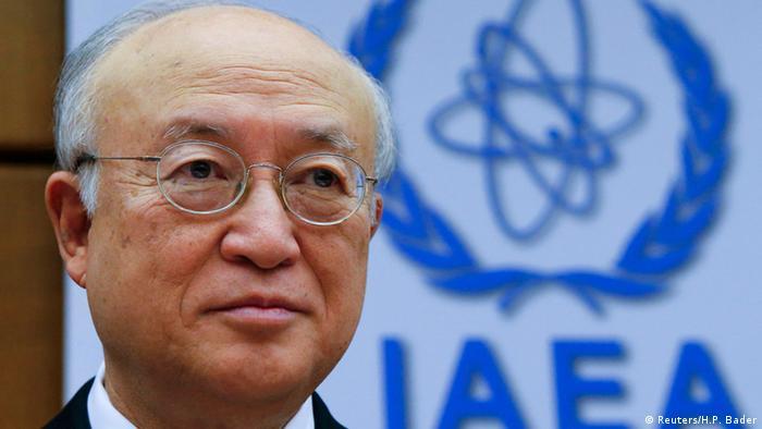 Wien Sitzung der IAEA - Yukiya Amano