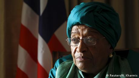 Ellen Johnson Sirleaf (Reuters/N. Kharmis)