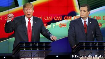 TV-Debatte mit Donald Trump und Ted Cruz