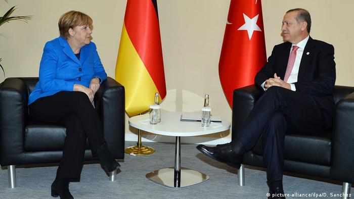 Анґела Меркель та Реджеп Таїп Ердоган. Архівне фото