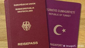 Deutschland - Türkei Reisepässe