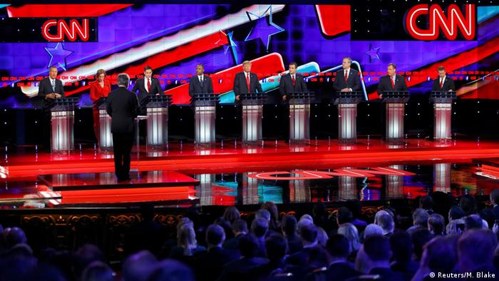 USA Wahl Republikaner Präsidentenkandidaten TV Debatte