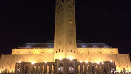 Marokko Hasan Moschee (DW/D. Guha)