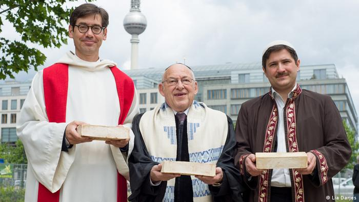Religion House of One Pfarrer Gregor Hohberg, Rabbiner Dr. Tovia Ben-Chorin Imam Kadir Sanci