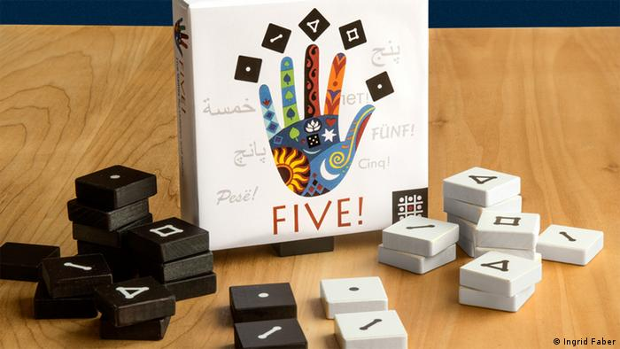 Give me FIVE Projekt - Spiele für Flüchtlinge (Foto: Ingrid Faber)